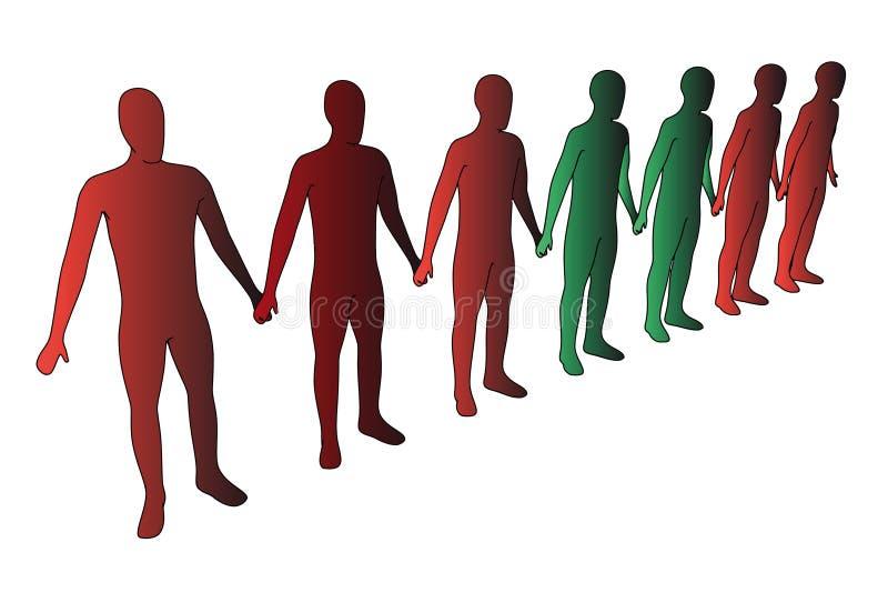 gente 3d imagen de archivo