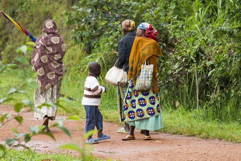 Gente africana fotografia stock