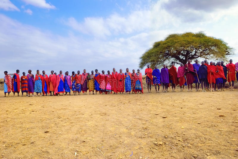 Gente africana imagenes de archivo