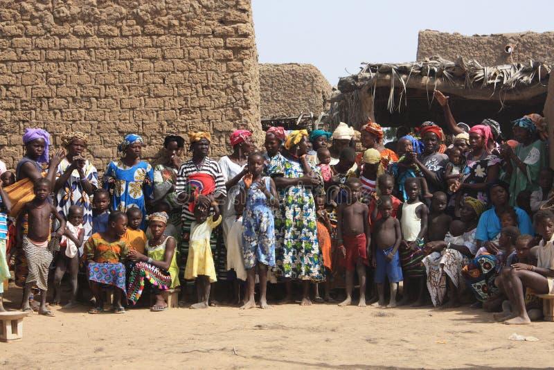 Gente africana fotografia stock libera da diritti