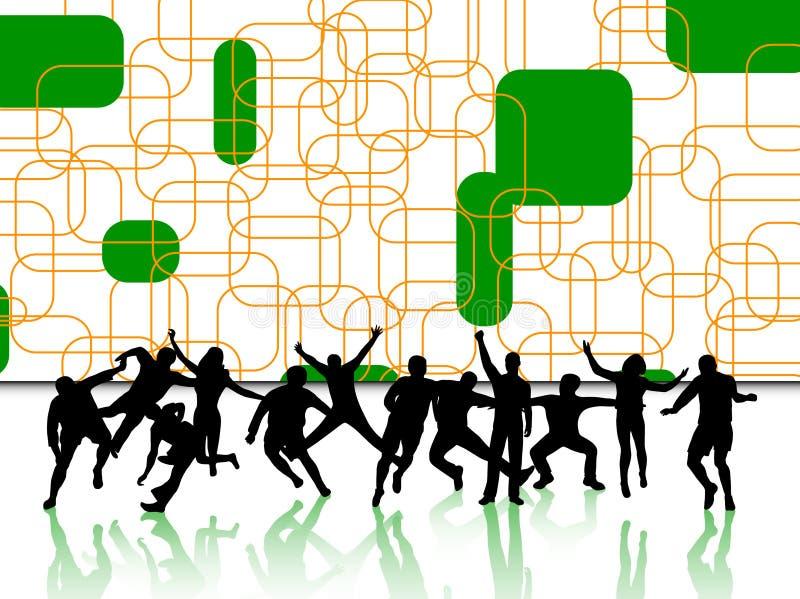 Download Gente attiva illustrazione vettoriale. Illustrazione di successo - 7314208