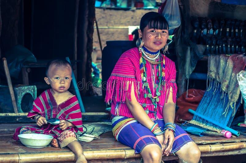 Gente de Akha fotografía de archivo