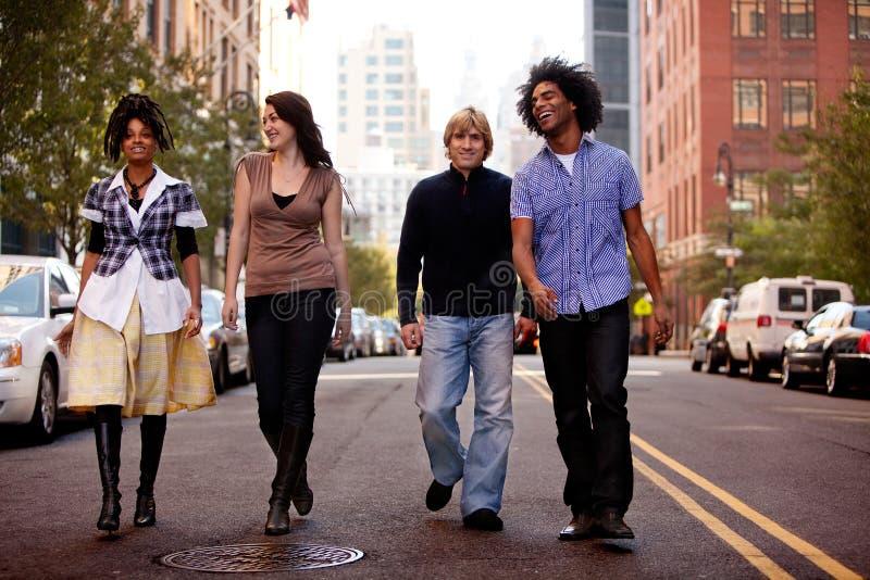 Gente de ciudad imagen de archivo libre de regalías