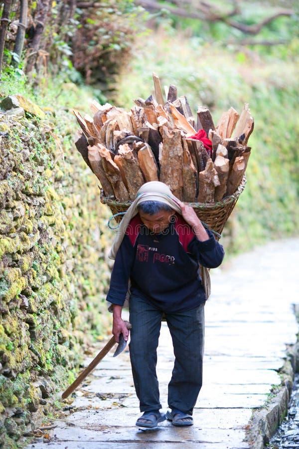 Gente de Gurung, Nepal fotos de archivo libres de regalías
