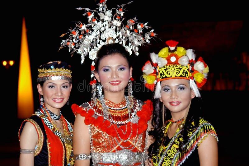 Gente de Iban fotografía de archivo