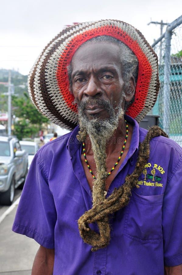 GENTE de JAMAICA, hombre de Rasta imagen de archivo
