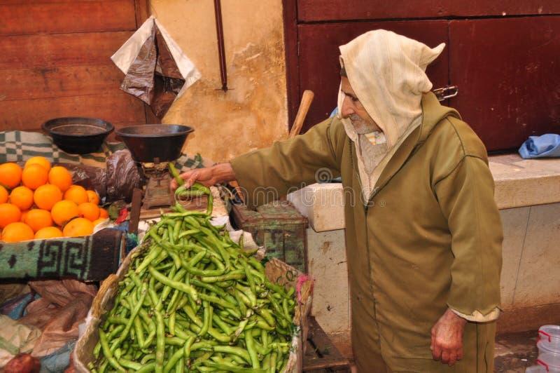 Gente de Marruecos que vive su vida fotos de archivo