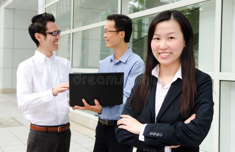 Gente de negocio asiática fotos de archivo