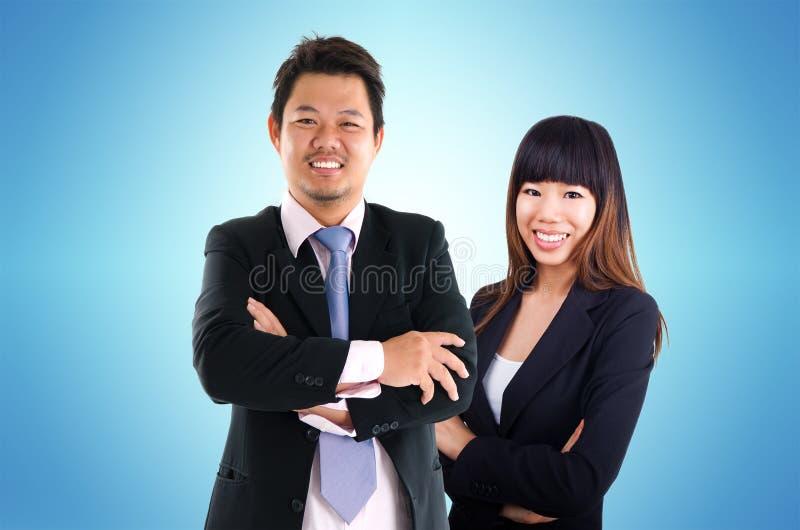 Gente de negocio asiática foto de archivo
