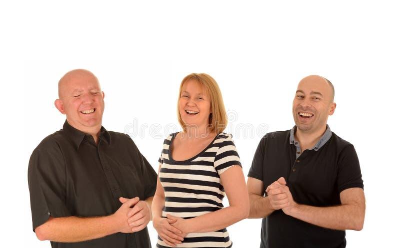 Gente de risa imagenes de archivo