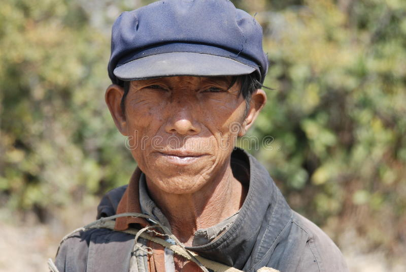 Gente de Yi en el sudoeste China fotografía de archivo