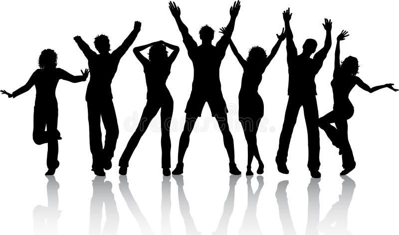 Gente del baile libre illustration