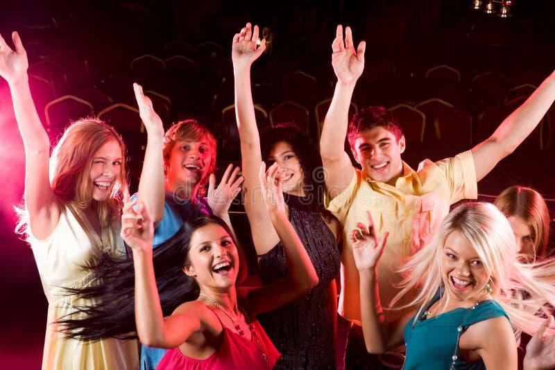 Gente del baile imágenes de archivo libres de regalías