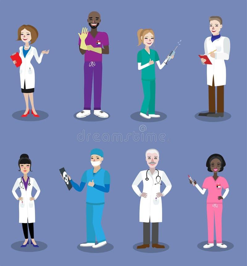 Gente del doctor imagen de archivo libre de regalías