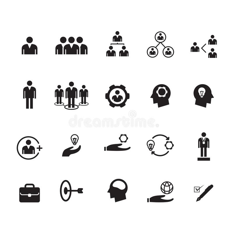Gente del icono, vector stock de ilustración