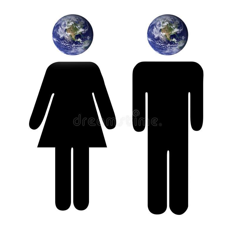 Gente del mundo libre illustration