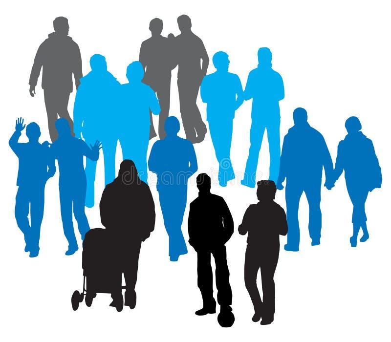 Gente del vector ilustración del vector