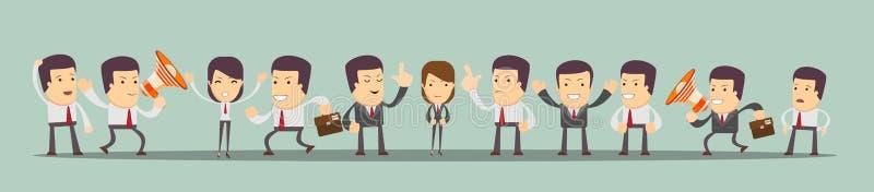 Gente del vector del negocio ilustración del vector
