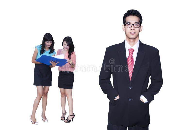 Gente di affari 1 fotografia stock libera da diritti