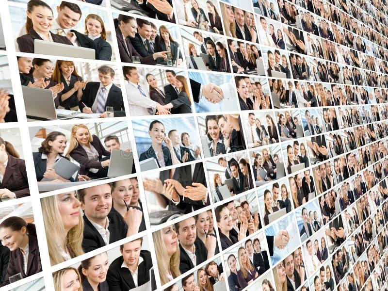 Gente di affari fotografia stock