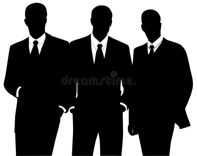 Download Gente di affari illustrazione vettoriale. Illustrazione di siluette - 7307181