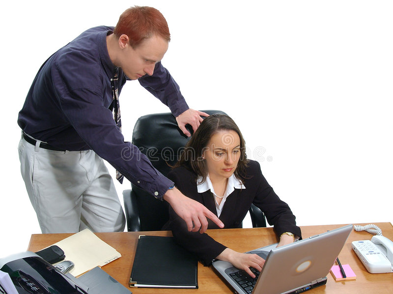Gente di affari 9 immagini stock