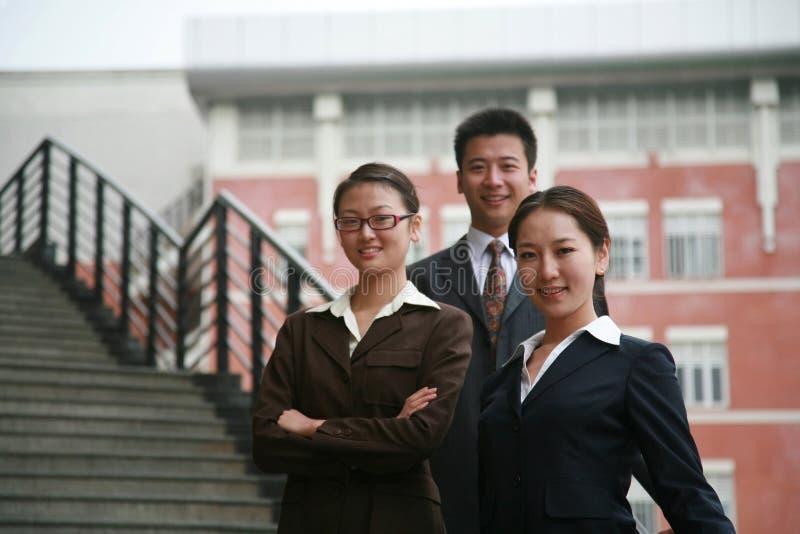 Gente di affari asiatica immagine stock
