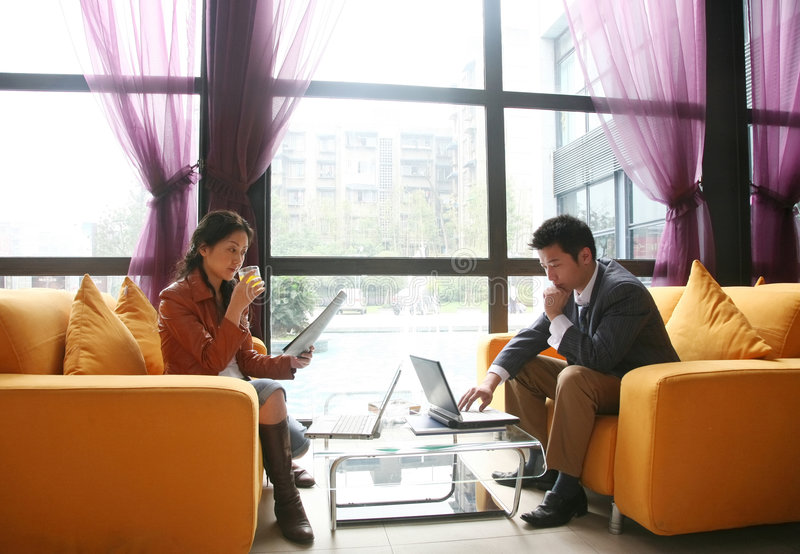 Gente di affari asiatica immagini stock