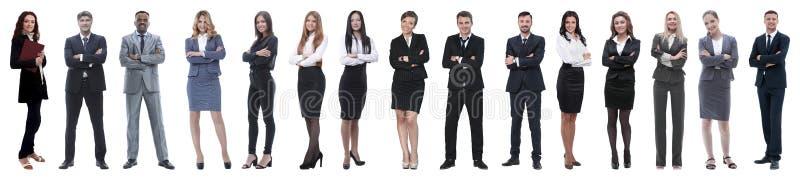 Gente di affari attraente - il gruppo di affari dell'elite immagini stock libere da diritti