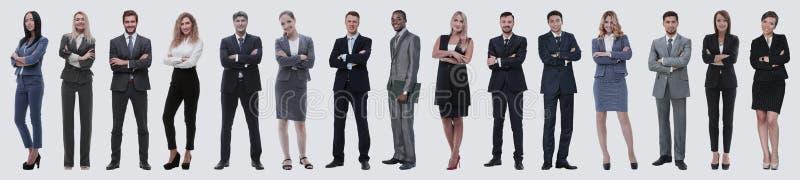 Gente di affari attraente - il gruppo di affari dell'elite immagini stock
