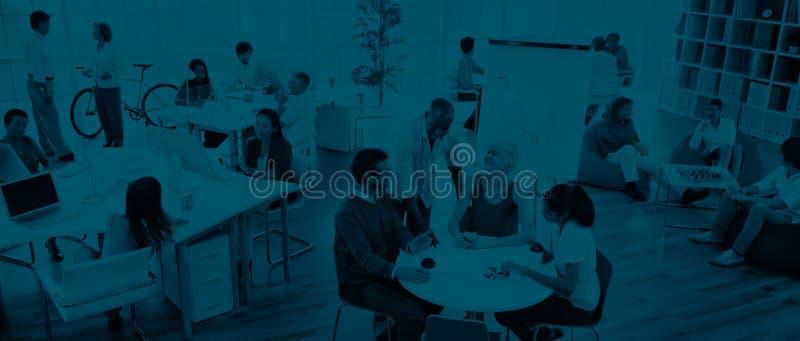 Gente di affari che incontra Team Teamwork Support Concept fotografia stock libera da diritti
