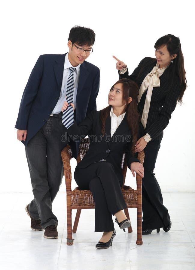 Gente di affari cinese immagini stock libere da diritti