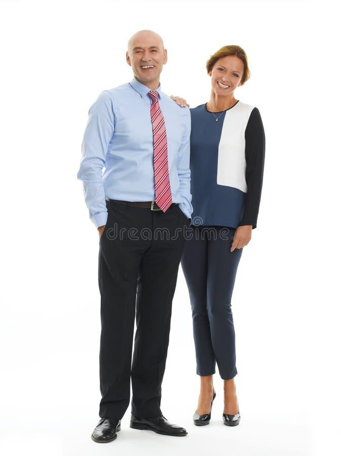 Gente di affari del ritratto fotografia stock