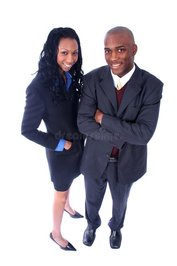 Gente di affari dell'afroamericano immagine stock