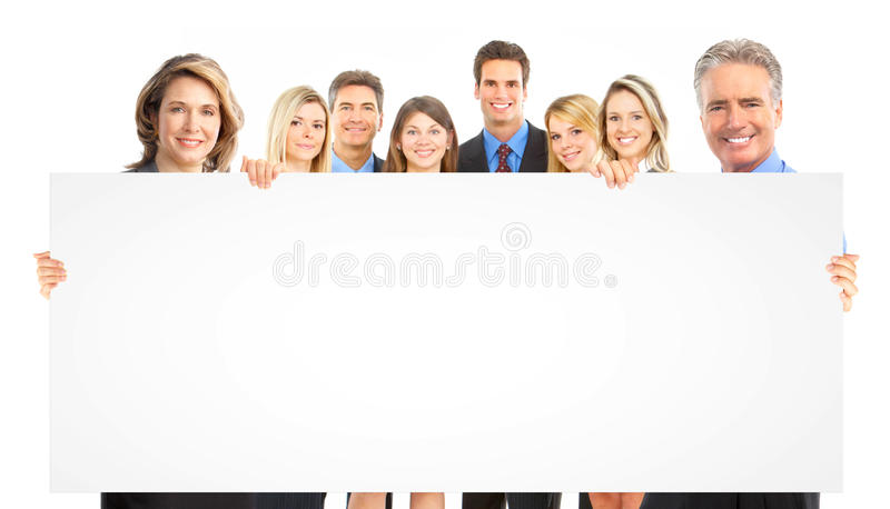 Gente di affari della squadra fotografia stock