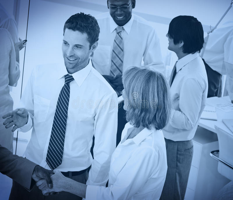 Gente di affari di accordo Team Teamwork Concept immagini stock
