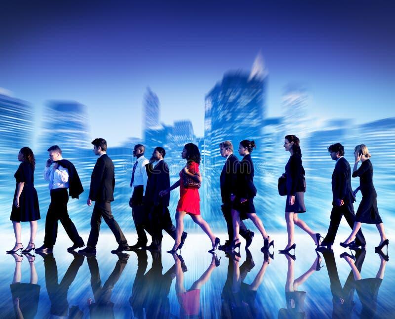 Gente di affari di collaborazione Team Teamwork Professional Concept fotografie stock
