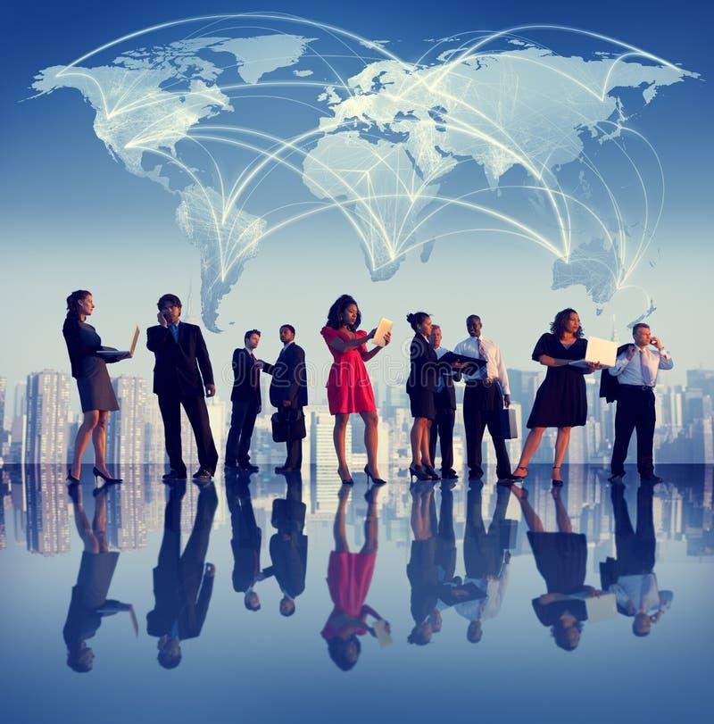 Gente di affari di collaborazione Team Teamwork Professional Concept immagini stock libere da diritti