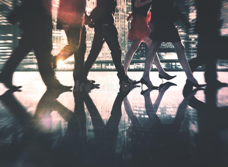 Gente di affari di collaborazione Team Teamwork Professional Concept fotografia stock libera da diritti