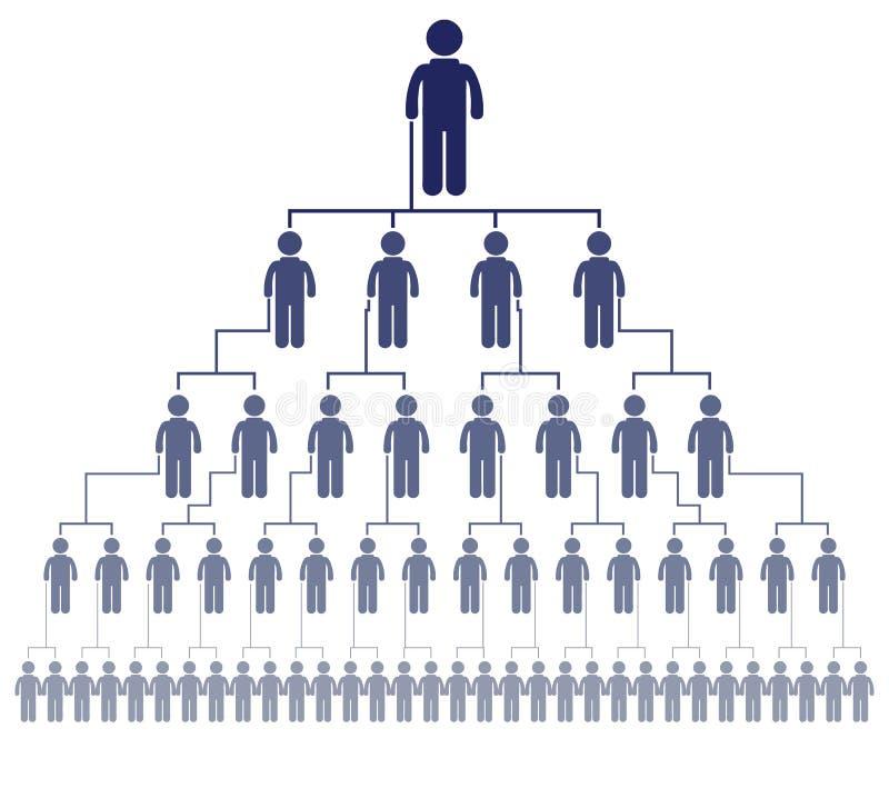Gente di affari di riunioni e conferenze Presentazioni di addestramento illustrazione di stock