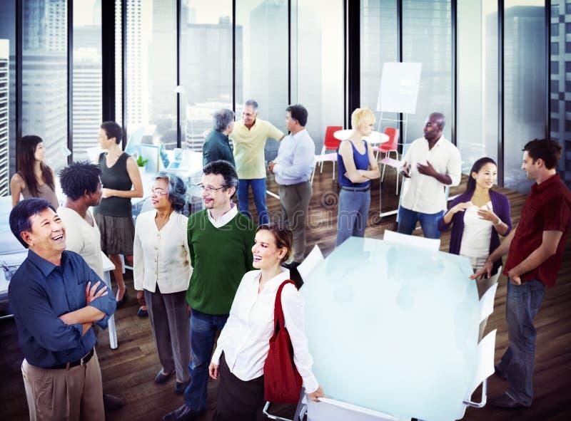 Gente di affari di Team Teamwork Cooperation Partnership Concept fotografia stock libera da diritti