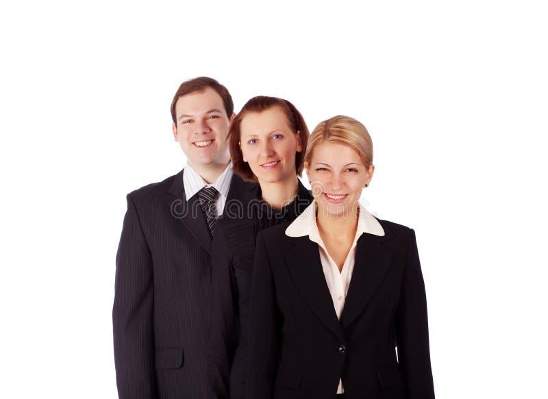 Gente di affari e squadra. fotografia stock