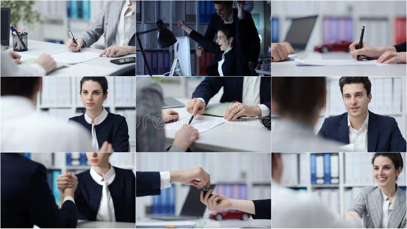 Gente di affari e stile di vita immagini stock