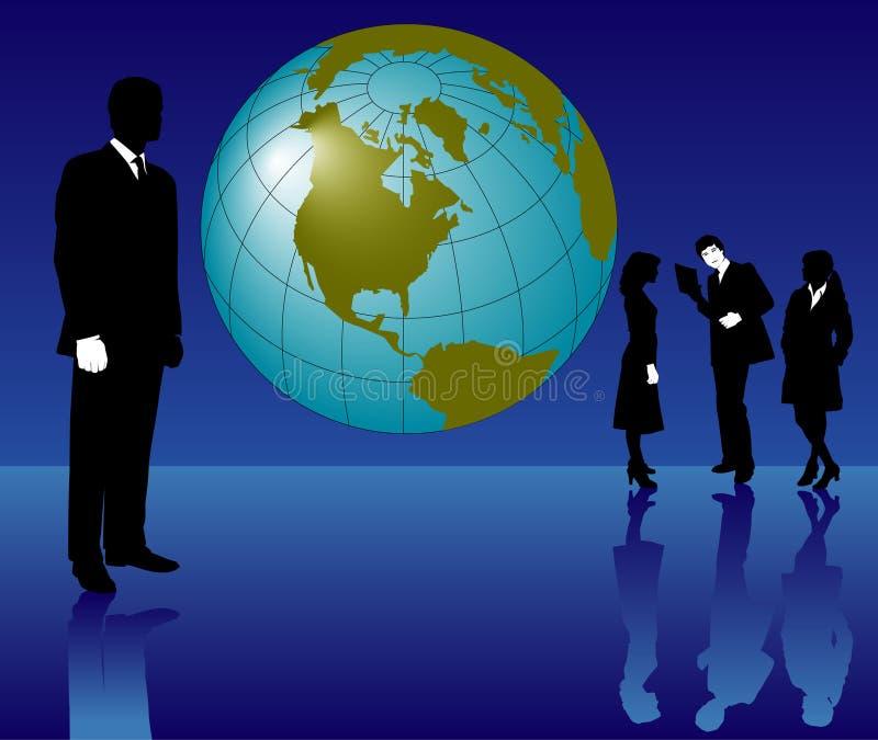Download Gente di affari globale illustrazione vettoriale. Illustrazione di commercio - 7315269