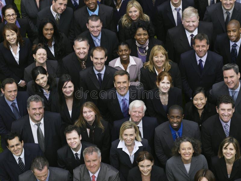 Gente di affari multietnica immagini stock