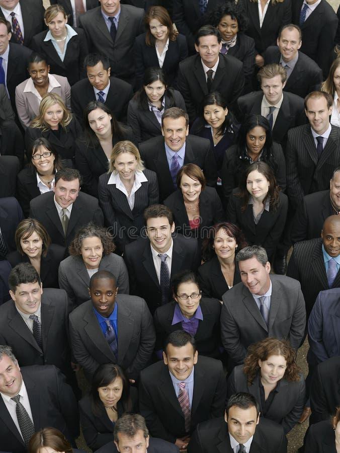 Gente di affari multietnica immagini stock libere da diritti