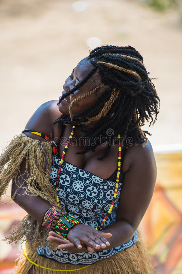Gente en ANGOLA, LUANDA fotos de archivo libres de regalías