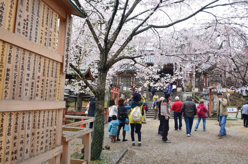 Download Gente En El Templo De Kyoto Imagen de archivo editorial - Imagen de ciudad, flora: 42430364