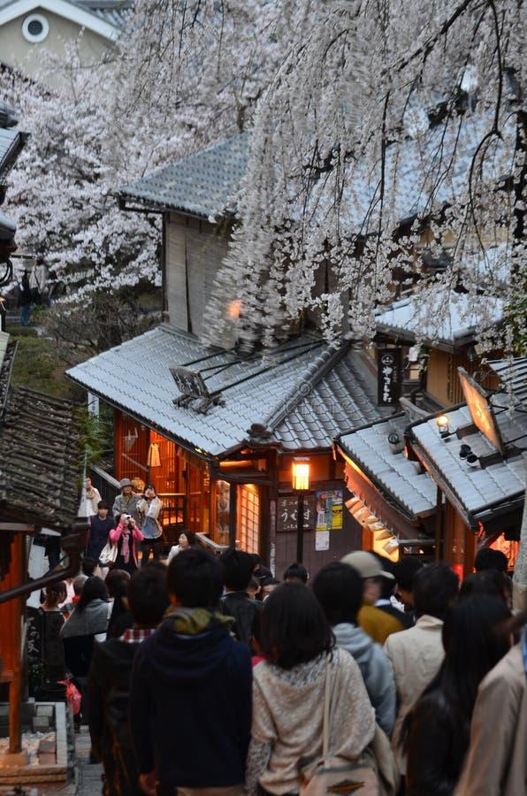 Download Gente En La Ciudad Vieja De Kyoto Foto editorial - Imagen de vista, estación: 42430326