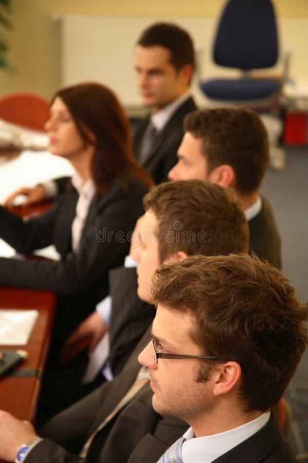 gente en la conferencia fotos de archivo